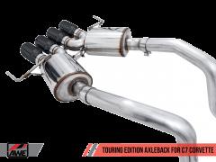 AWE Axleback Exhaust For C7 Z06/ZR1