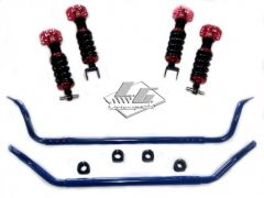 LG Motorsports C7 GT2 Coil Over and G7 Sway Bar Performance Handling Package