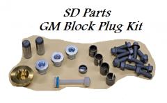 SD Parts LS Block Plug Kit